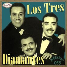 LOS TRES DIAMANTES Mexico Collection CD #55/100 - MEXICAN Trio Bolero Canción