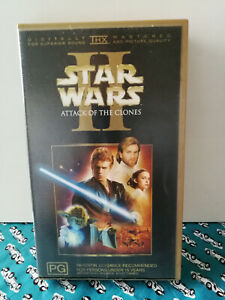 Star Wars II Attack of the Clones VHS PG VGC