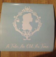 Disney Belle Beauty And The Beast Vinyl Box Frame Decal
