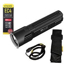 NITECORE EC4 Die-Cast XM-L2 U2 LED Dual Switch Flashlight 1000 Lumens