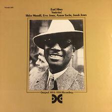 Earl Hines - Varieties! / Xanadu Vinyl New & Sealed from 1985