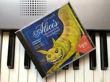 ALICE IN WONDERLAND - Rare 1998 Cast Recording signed