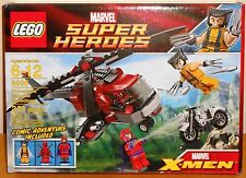 LEGO Marvel 6866 Wolverine's Chopper Showdown NEW with Deadpool