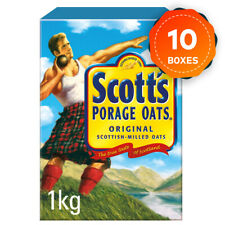 More details for 10 x scott's porage oats box of 1kg