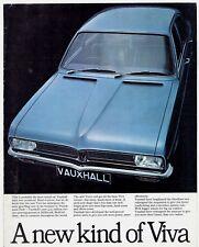 Vauxhall Viva HC Saloon Estate 1970-71 UK Market Launch Foldout Sales Brochure