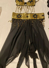 Professional belly dance costume used