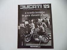 advertising Pubblicità 1976 MOTO DUCATI 125 REGOLARITA'