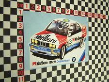 BMW E30 Touring Car Team Sticker