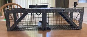 Vintage Victor Trap NOS Havahart Cage Trap Unique Stamping Original Box