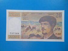 20 francs Debussy 1990 F66BIS/1 NEUF