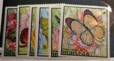 Burundi  Stamp Scott#  246-251 Butterflies  1968  MNH   L126