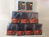 175 ULTRA PRO 3x4 ULTRA CLEAR Hard Plastic STANDARD toploaders &200 SOFT SLEEVES