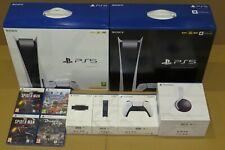 Sony PlayStation 5 PS5 elegir Consola/juegos/extras en mano * conseguirlo mañana