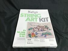 NEW Factory Sealed ~ Vintage Kelly's String Art Kit ~ #5005 Gristmill