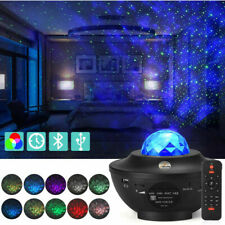 Galaxy Star Night Lamp LED Starry Sky Projector Light with Ocean Wave Bluetooth