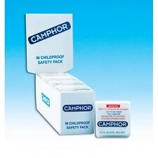 ** BULK BUY ** CAMPHOR blocks 7g x 8 100% camphor X 12 packets