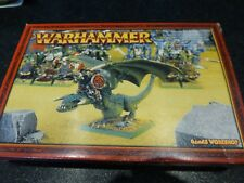 Games Woirkshop Warhamnmer  Orc Warboss on Wyvern in Original Box