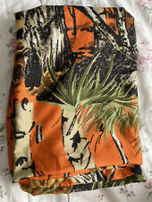 1 Orange Camo Standard Pillow Case