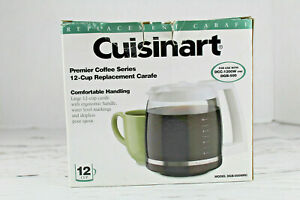 Cuisinart Coffee Maker 12-Cup Glass Replacement Carafe DGB-500WRC Brand New
