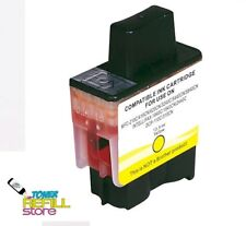 Yellow Remanufactured Ink Cartridge Brother LC41Y LC41