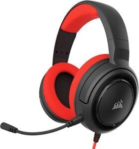 Corsair HS35 Stereo Gaming Headset, Custom 50 mm Neodymium Speakers, Detachable