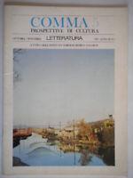 comma 5 letteratura 1966 poesia betocchi pasolini bingongiari toscana luzi ramat