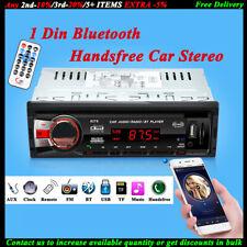 Car Radio Bluetooth 1 DIN In Dash 12V SD/USB IPOD Aux In FM Stereo Head Unit New