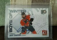JEFF CARTER 2010-11 Donruss Boys of Winter Threads AUTOGRAPH #17 AUTO #12/25