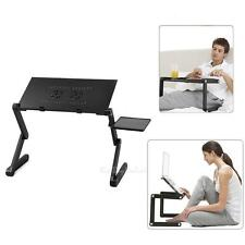 Portable Adjustable Folding Laptop Desk Table Stand Bed Tray For PC Notebook