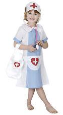 Nurse Midwife Hospital Uniform Dress Up Book Week Girls Costume 3 - 5