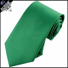 Mens Emerald Green Necktie Mid Green Tie St Patrick's
