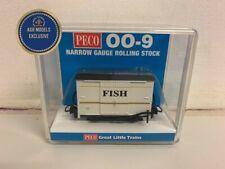 More details for peco gr-223agr 009 gauge white boxed van 'fish' agr special