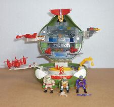 1995 TMNT Turtles Mini Mutant Leonardo's Mutant Military Playset - 100% complete