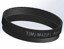T-M42 T2 T-mount to M42 lens converter filter adapter ring 42-42mm 42x0.75-42x1