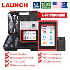 LAUNCH X431 PROS MINI Car All Systems Diagnostic Scanner OBD2 Scan Tool Scanpad