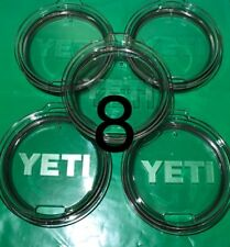 (8) Yeti Original Replacement Lids for 30oz Tumbler ~ Authentic ~ NEW