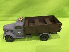 Tamiya? 1/35 Segunda Guerra Mundial alemán camión de tropas, Europa y pintado precioso artículo. construido.