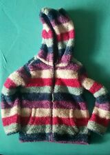 Girls Fluffy Warm Winter/Autumn Zipped Jacket,  Purple, Blue&Pink -4 Years, Used