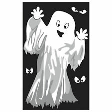 👻GHOST WINDOW SILHOUETTE HALLOWEEN Decoration Party Cute Friendly Reusable👻