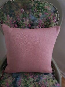 Handmade woven Indian cotton cushion