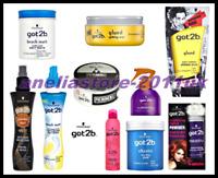 BEST PRICE SCHWARZKOPF GOT2B HAIR STYLING PRODUCT, Sprays,Wax,Paste,Gum,Powder