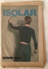 David Bowie 1976 Isolar Program Station To Station Tour Rare Original