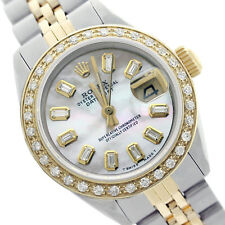 Rolex Lady Datejust 6917 Two-Tone 26mm Diamond Dial Diamond Bezel - Pre-Owned