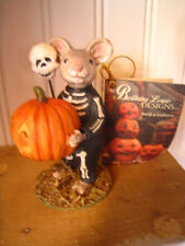 "Bethany Lowe Halloween Skeleton Mouse New 2018 TD7625 ""SKELLY MOUSE"""