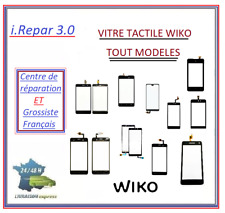 vitre tactile wiko lenny/rainbow/ridge/pulp/fever/jerry/sunny/tommy/view/2/3/4/5