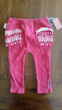 Sooki Baby Red ruffle leggings sz1 BNWT free post D90