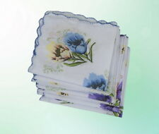 Damen Taschentuch Tuch Tücher Taschentücher Weiß 12 Stück 29 * 28 cm Packung