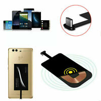 Type-C USB-C Qi Wireless Charger Adapter Charging Receiver For Android Huawei LG