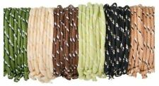 144 Camouflage Friendship Rope Bracelets Parties Prizes Only 7 cents Each! HOT!
