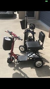 Portable Ozrider Ms013 3wheel Mobility Scooter